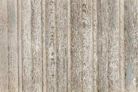 Old rustic wooden wall texture with white peeling paint Stock fotó