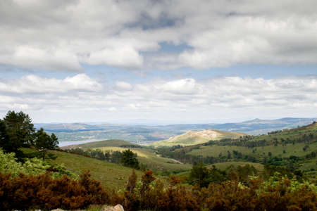 Landsacape in Muiños, Serra do Xurés-Baixa Limia natural parkland, Galicia, Spain