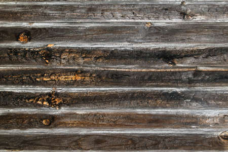Old rustic wooden planks wall background or texture