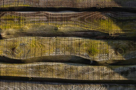 Rustic wooden wall background or texture Stock fotó