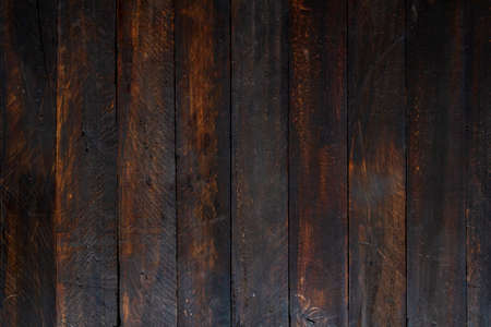 Old distressed rustic wooden planks wall background or texture
