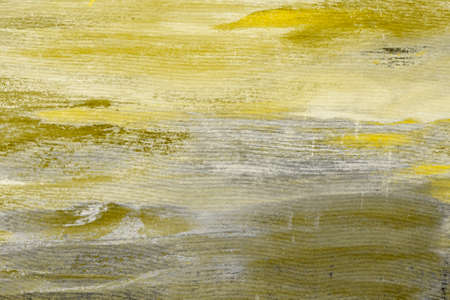 Worn yellow backdrop grunge background or texture