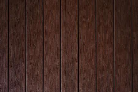 Mahogany brown wenge wood wall background or texture Standard-Bild
