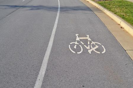 자전거 레인 스톡 콘텐츠 - 11554036