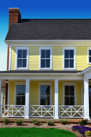Yellow Cape Cod Dream Home