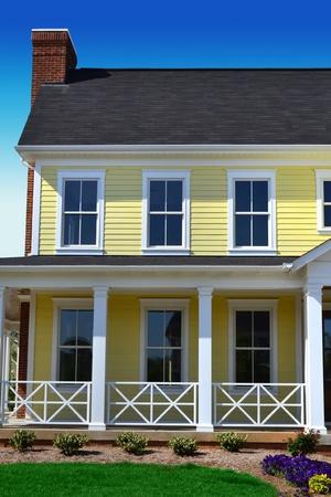 Yellow Cape Cod Dream Home