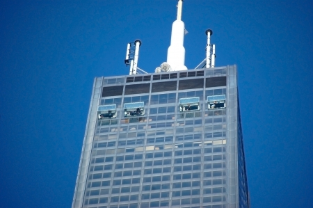 sears: Chicago Willis Sears Tower Editorial