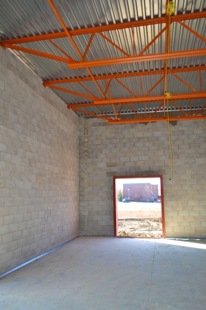 warehouse building: New Warehouse Construction
