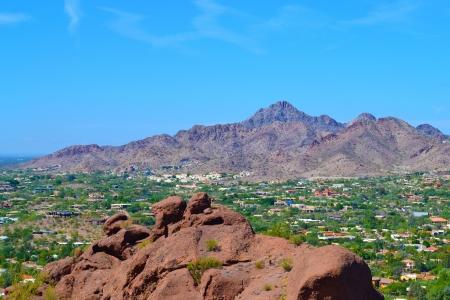 scottsdale: Aerial View of Scottsdale, Arizona