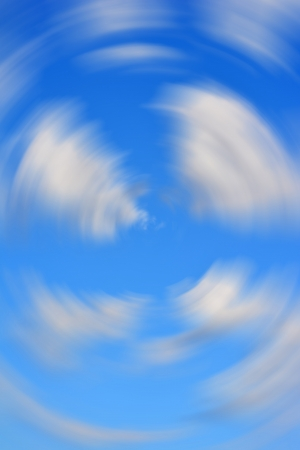 Abstract Clouds Blur