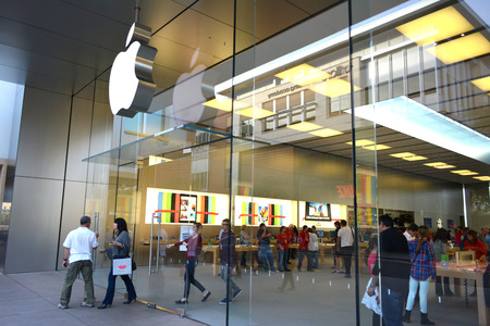 scottsdale: Apple Store at The Scottsdale Quarter in Scottsdale, Arizona USA