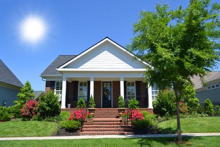 Brand New, New England Style Cape Cod Dream Home Редакционное