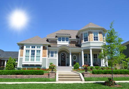 �quit�: Neuf, New England style Cape Cod maison de r�ve �ditoriale