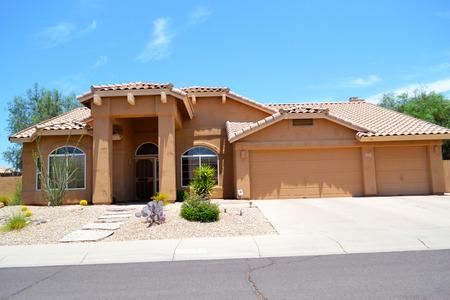 ranch house: Brand New Luxury Southwestern Style Arizona Home Editorial