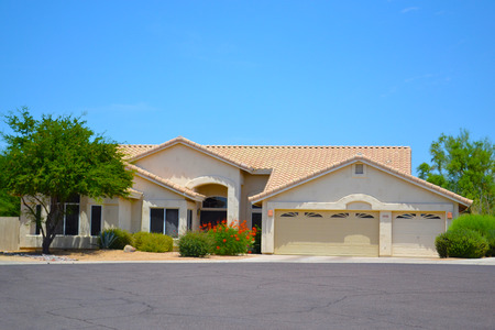 spanish home: Brand New Luxury Southwestern Style Arizona Home Editorial
