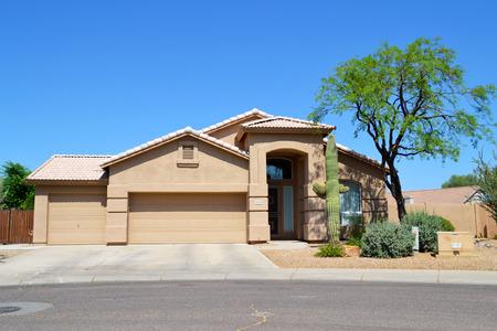 Brand New Luxury Southwestern Style Arizona Home Редакционное