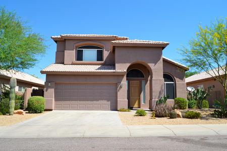 ブランドの新しい高級南西部スタイルのアリゾナの家 報道画像
