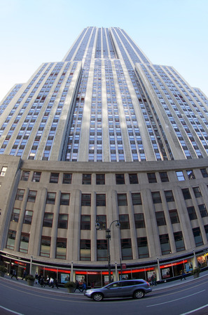 heralds: Empire State Building in New York City, NY USA