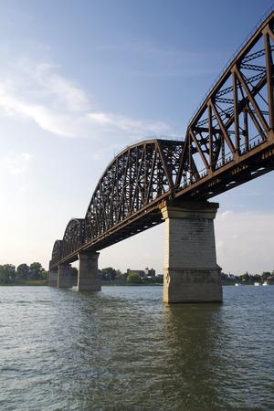 Railroad River Bridge