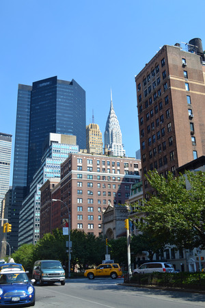 heralds: Chrysler Building in Downtown Manhattan, New York City, NY USA Editorial