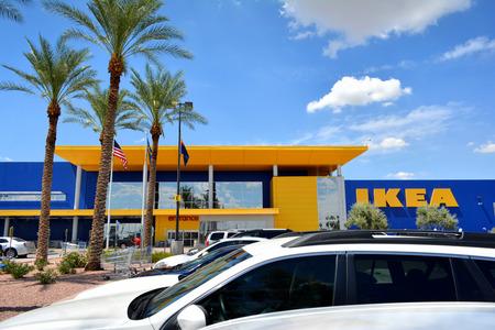 IKEA Home Furnishing Store Редакционное
