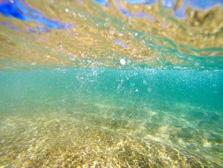Beautiful, Clear Blue Ocean - Underwater