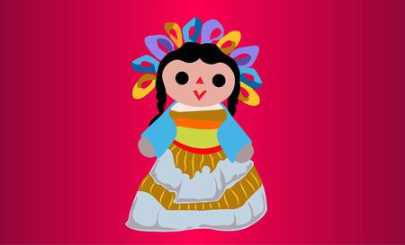 メキシコ人形