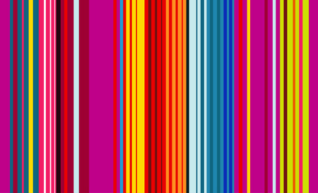 Colorful Mexican Sarape, Pattern