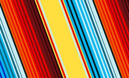 Mexican Colorful Sarape, Pattern 版權商用圖片 - 117688158