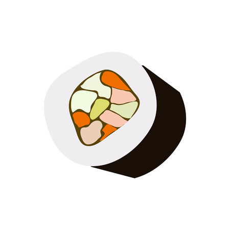 Sushi, Vector Illustration Stock Illustratie