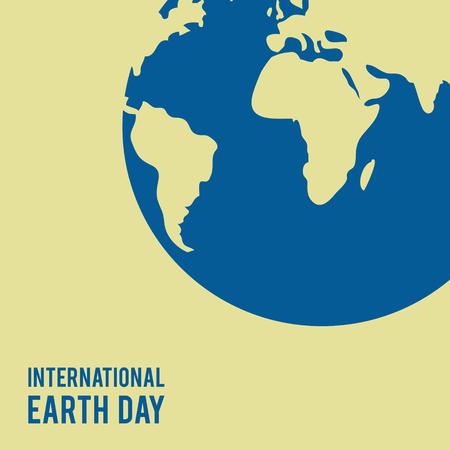 International Earth Day, Banner 向量圖像