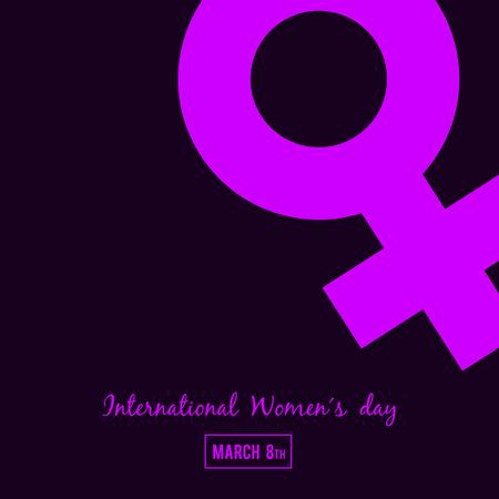 International Women's day, Banner