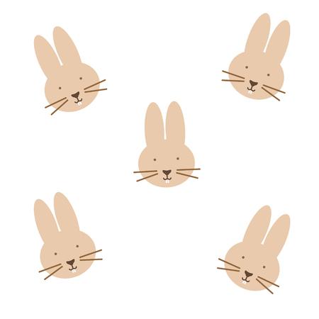 Abstract Rabbit Illustration