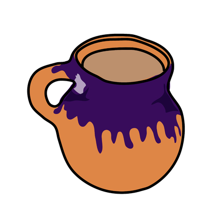 Mexican Mug Illustration 版權商用圖片 - 117688520