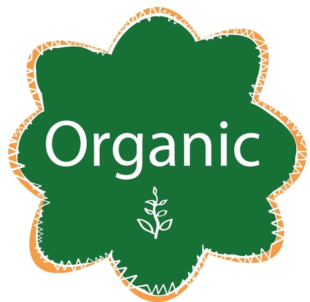 Organic badge Stock Vector - 17211143