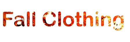 Herbst Kleidung Standard-Bild - 17211146
