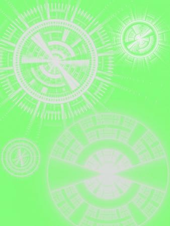 Disks Illustration