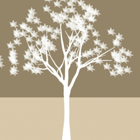 Tree Wall Art Stock Vector - 17396363