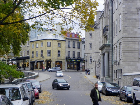 falltime: Street in old city