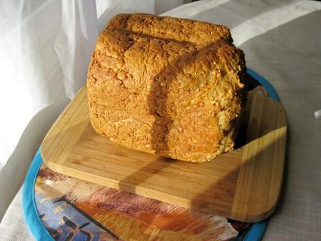 m�quina: Pan por la m�quina Foto de archivo