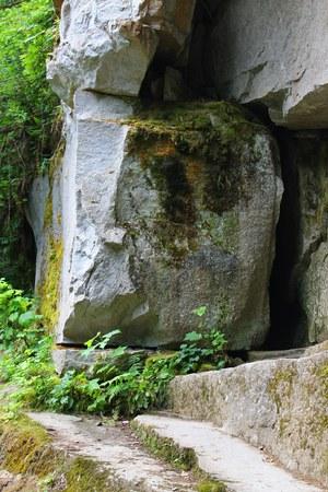 square: Gigantic square rock