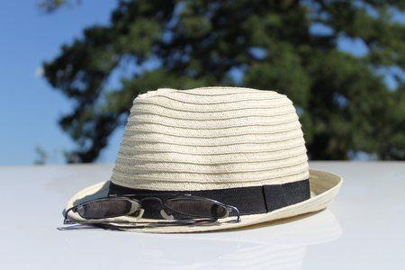 chapeau de paille: Summertime chapeau de paille