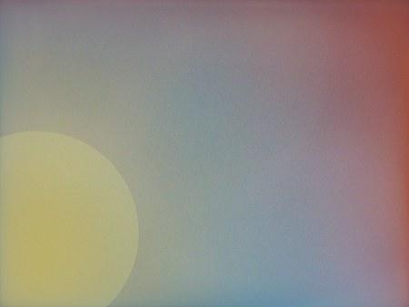 Suns atmospere - abstract art Фото со стока
