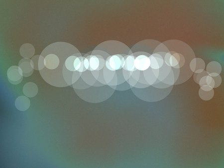 turquiose: Solar abstract of soft ornges and blues - abstract art