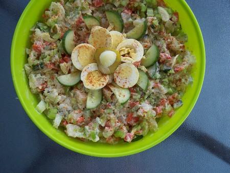 deluxe: Deluxe Potato salad