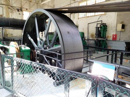Historic mining equipment