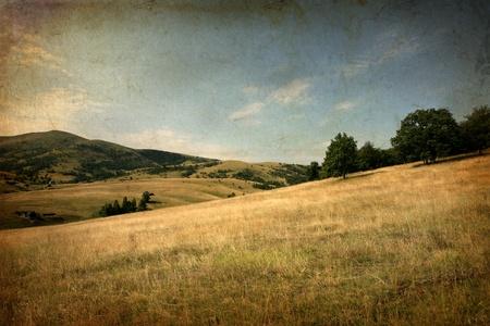 serbia: landspace of Zlatibor in Serbia Stock Photo