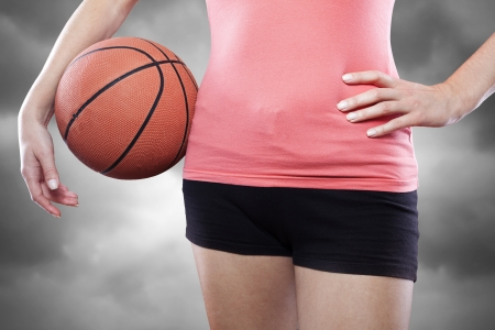 Torso of female basketball player Stock Photo - 15985415