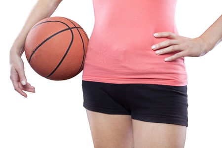 Torso of female basketball player Stock Photo - 15985412