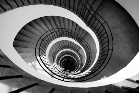 Stairs in museum in Munchen, Germany Stock Photo - 16065454